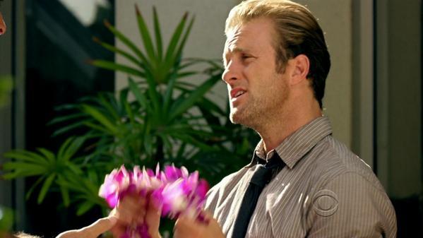 Please don't make me wear flowers!!